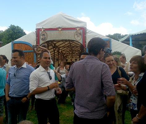 Festival tent hire - Tent Cavallone