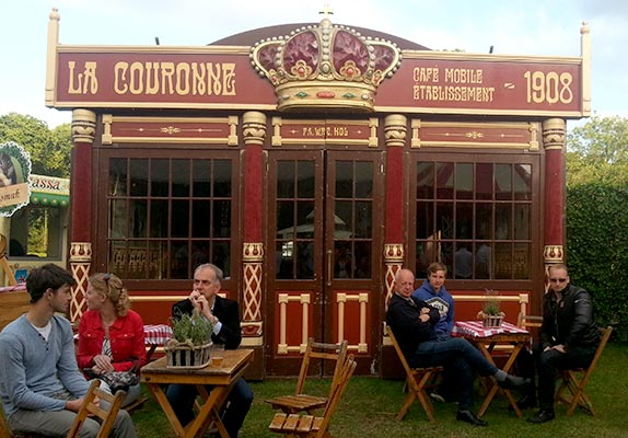 Festival tent hire - Tent La Couronne