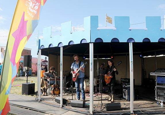 Festival tent hire - Tent Torenkamer